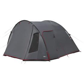 High Peak Tessin 4 teltta, dark grey/red